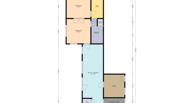 Plan gelijkvloers 2D (Nr. 13)