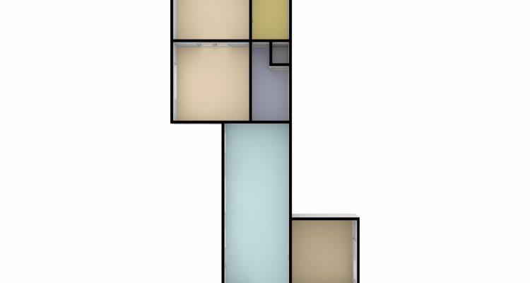 Plan gelijkvloers 3D (Nr. 13)
