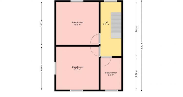 Plan verdieping 2D (Nr. 13)
